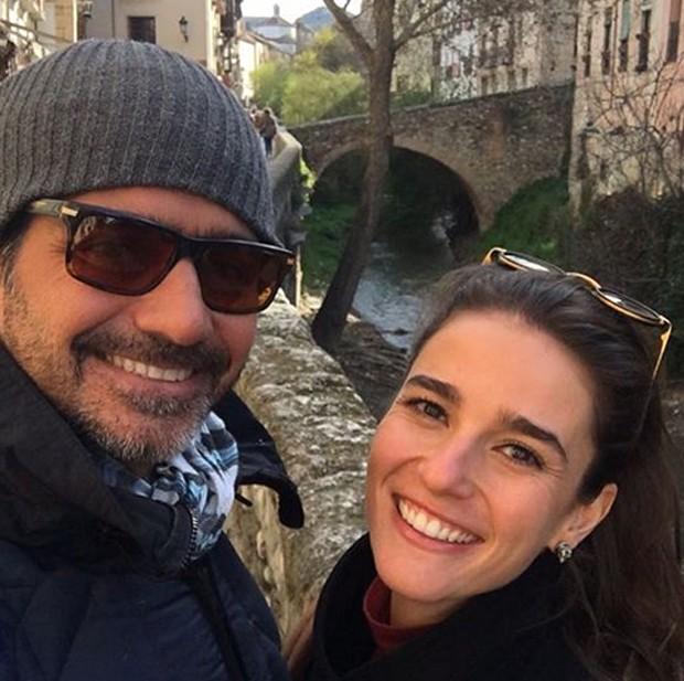 riscila Steinman e Vinícius Coimbra (Foto: Reprodução/Instagram)