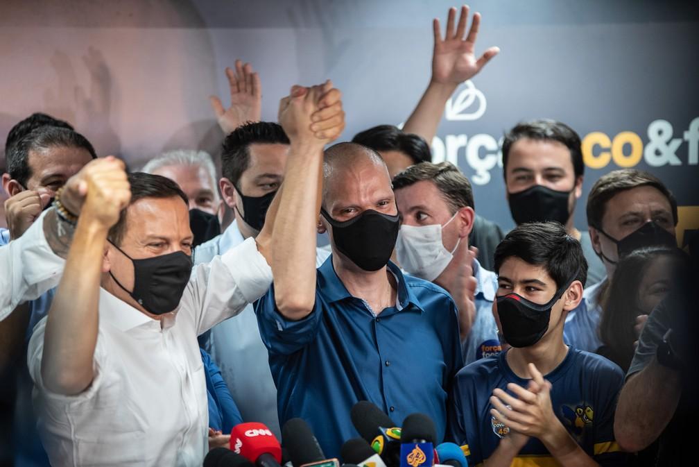 Veja imagens da derrota de Boulos e da vitória de Covas nas eleições para  Prefeitura de São Paulo   Eleições 2020 em São Paulo   G1