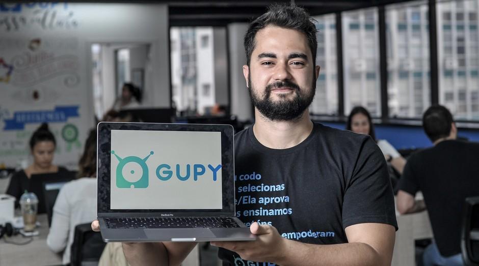 Guilherme Dias, sócio da Gupy (Foto: Reinaldo Canato / Ricardo Yoithi Matsukawa-ME/Sebrae - SP)