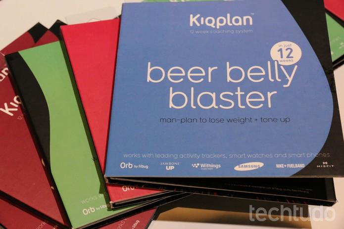 Kiqplan é um app que ajuda a emagrecer (Foto: Isadora Díaz/TechTudo)