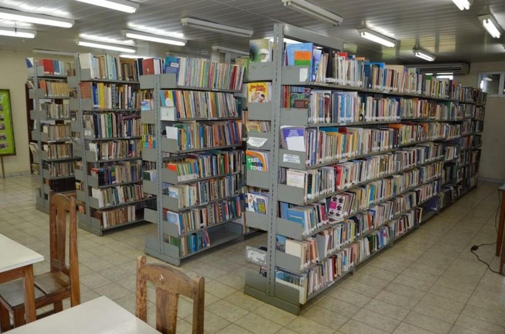 Biblioteca de Ariquemes — Foto: Prefeitura/Divulgação