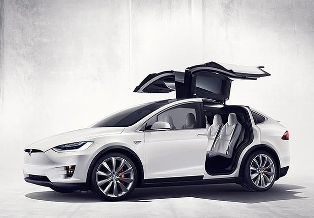 Model X , lançamento da Tesla (Foto: Divulgação)