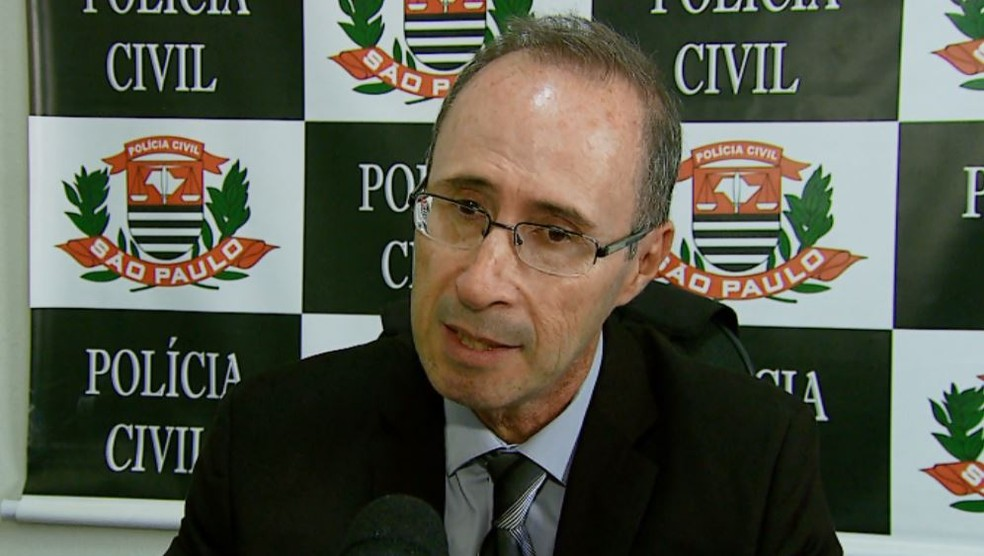 O delegado de Mococa José Guilherme Torrens de Camargo (Foto: Reprodução/ EPTV)