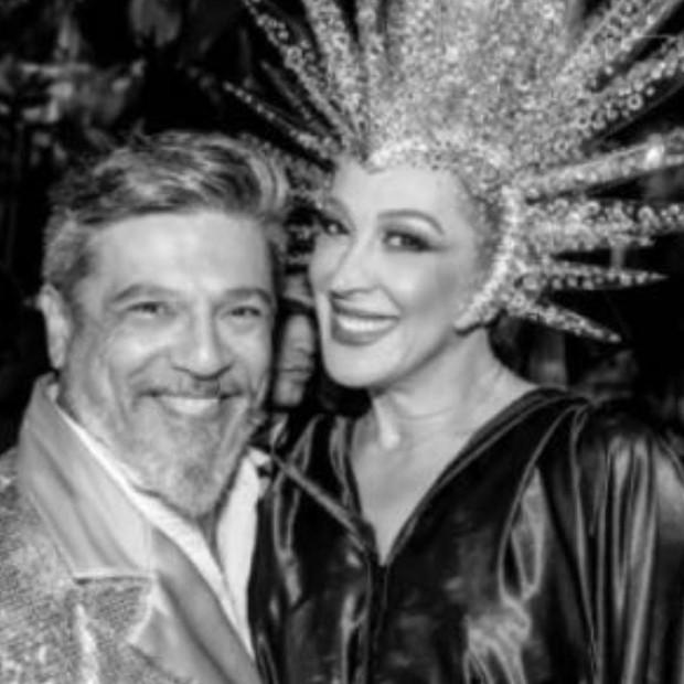 Marcos Tumura e Cláudia Raia (Foto: Reprodução/Instagram)