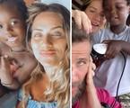 Bless, Giovanna Ewbank, Bruno Gagliasso e Titi   Reprodução
