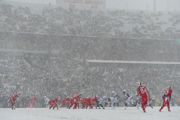 As Imagens Do Jogo Entre Bills E Colts Sob Nevasca Em Buffalo