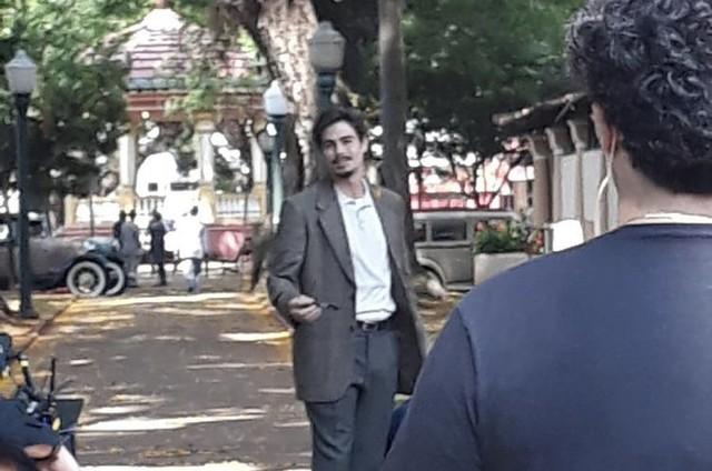 """Rafael Vitti em cena em &squot;Além da ilusão"""" (Foto: Reprodução/ Instagram)"""