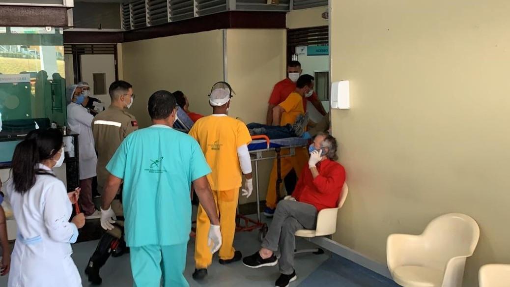 Trabalhador tem mão amputada enquanto operava máquina, em Santa Rita, PB