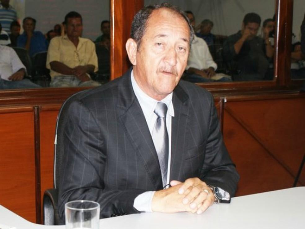 João Madureira (PSC), ex-vereador por Várzea Grande, indicou preso para ocupar cargo de assessor parlamentar (Foto: Divulgação/Câmara de Várzea Grande)