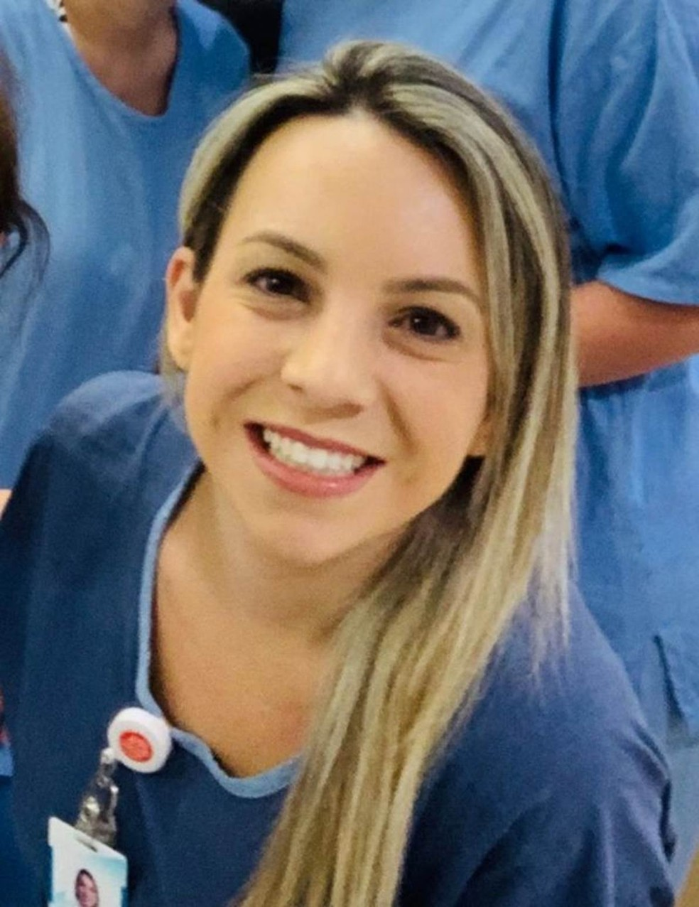 Enfermeira Natalia Balestra — Foto: Arquivo pessoal/ Natalia Balestra