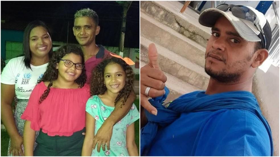 Alex da Natividade Rodrigues era pai e nascido em São Mateus do Maranhão — Foto: Arquivo Pessoal
