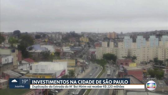 Doria e Covas anunciam parceria para a duplicação da Estrada do M'Boi Mirim e investimentos na área de saúde em SP