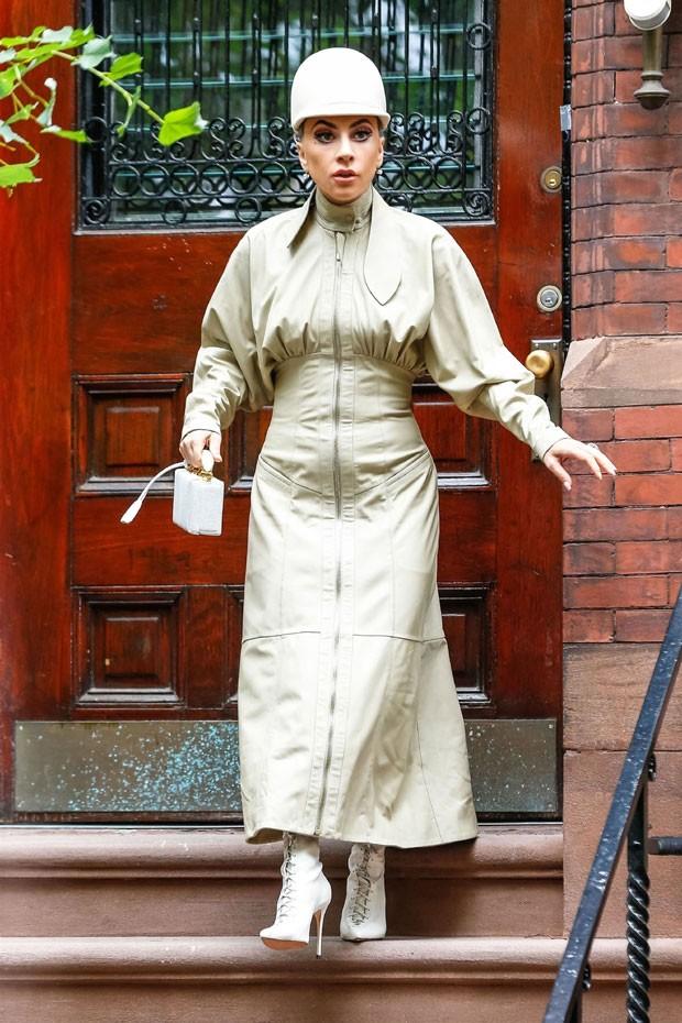 Lady Gaga: look diferente (Foto: Backgrid)