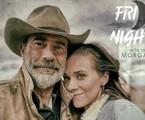 Jeffrey Dean Morgan e Hilarie Burton Morgan | Divulgação / AMC