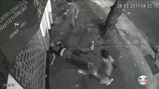 Câmeras flagram agressões que causaram morte de argentino no Rio