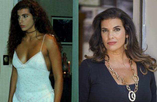 Luciana Coutinho, a Jaciara da trama de 1996, também tinha um relacionamento com Paulo Betti na história. Hoje, ela cuida de um projeto social (Foto: TV Globo)
