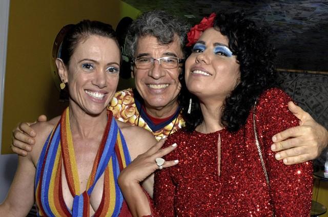 Bel Kutner, Paulo Betti e Dadá Coelho (Foto: Cristina Granato)