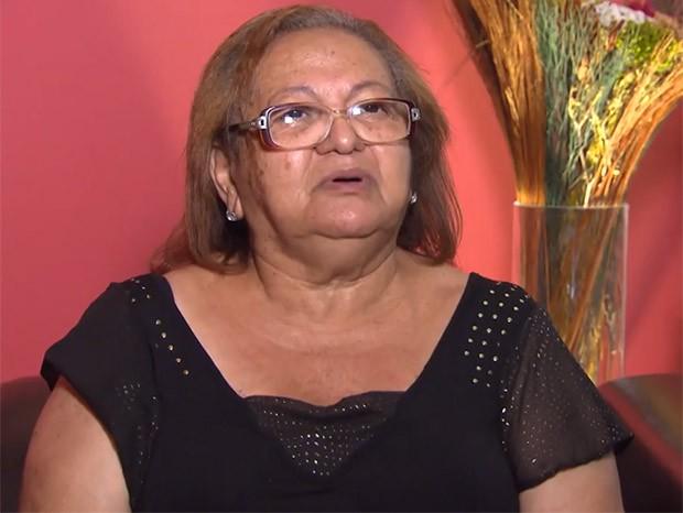 Therezinha Pires, mãe de Belo (Foto: Reprodução/TV Globo)
