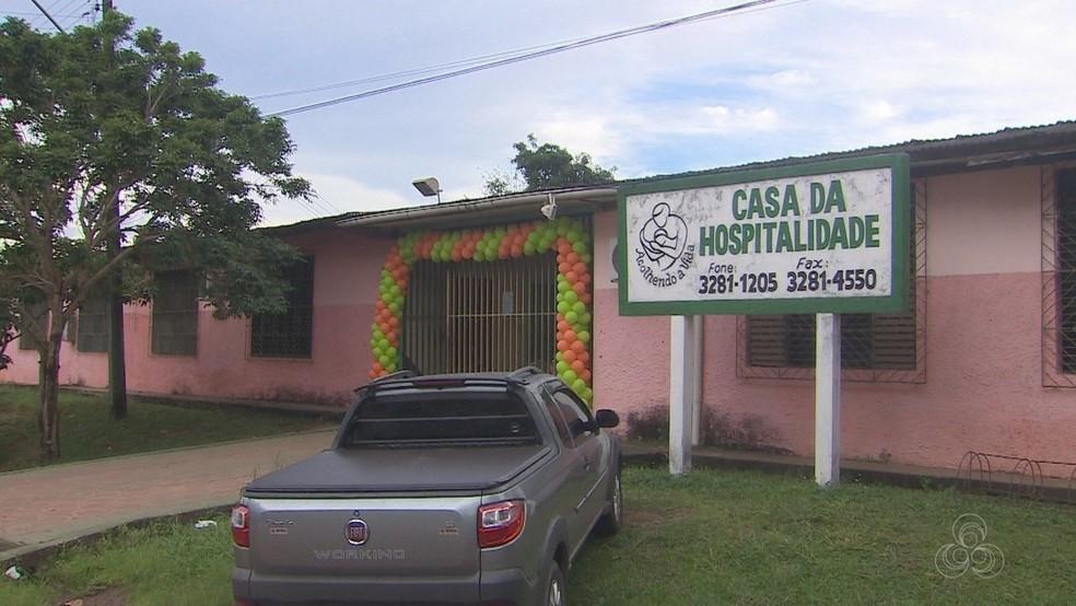 Casa da Hospitalidade, em Santana, será beneficiada com obra após acordo — Foto: Reprodução/Rede Amazônica