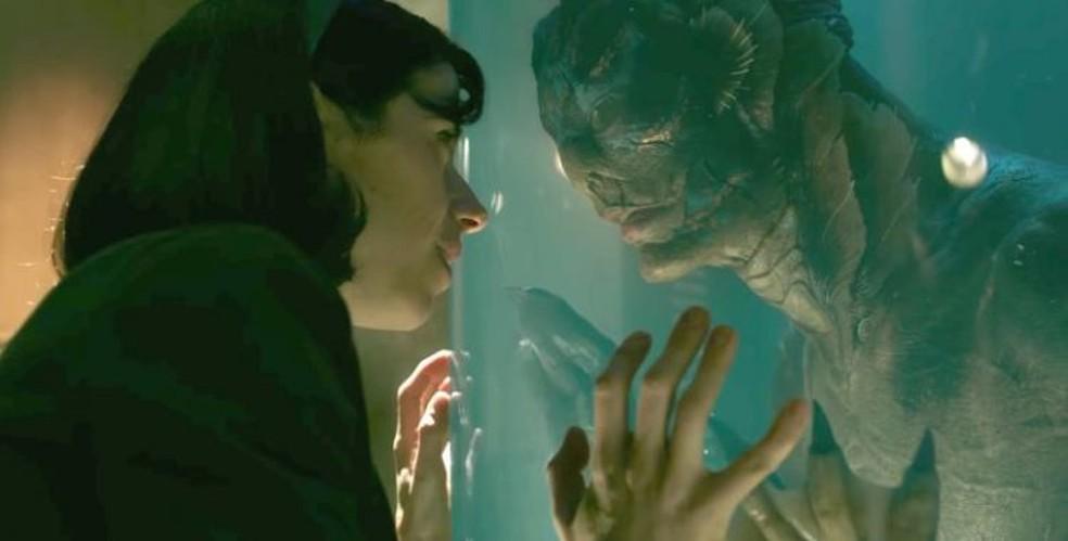 Cena de 'A forma da água' — Foto: Reprodução/Eu adoro cinema