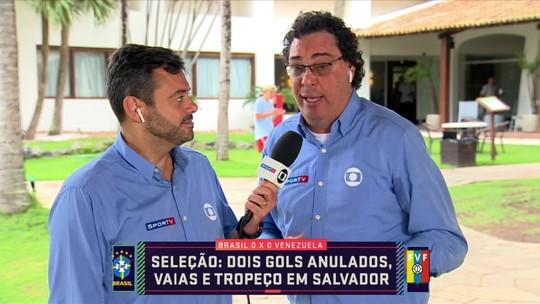 """Casagrande diz que Seleção sofre para lidar com vaias da torcida: """"Não tem reação"""""""