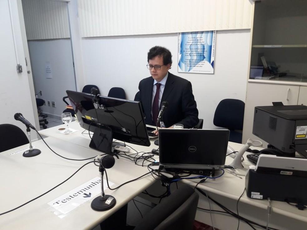 Rosivaldo Toscano, juiz do 3º Juizado de Violência Doméstica de Natal (Foto: Heloísa Guimarães/Inter TV Cabugi)
