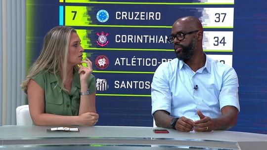 """""""Jogando para ser campeão"""", """"grande força hoje...."""":  comentaristas enchem Palmeiras de elogios"""