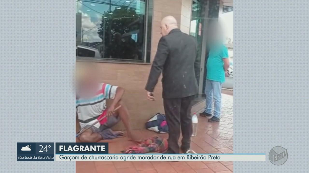 Autoridades pedem investigação após funcionário de churrascaria agredir homem em Ribeirão