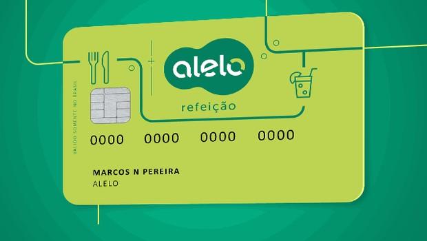 Cartão da Alelo (Foto: Divulgação)