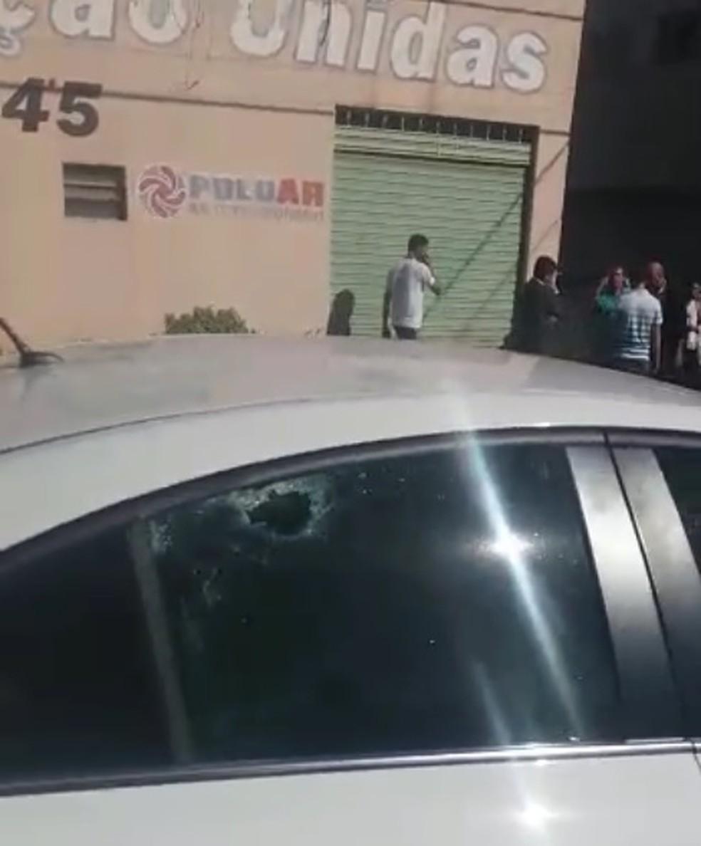 Cobrança de dívida termina em tiroteio e deixa feridos em Olímpia (Foto: Arquivo Pessoal)