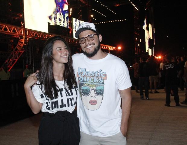 Yanna Lavigne e Bruno Gissoni (Foto: AgNews/Wallace Barbosa)