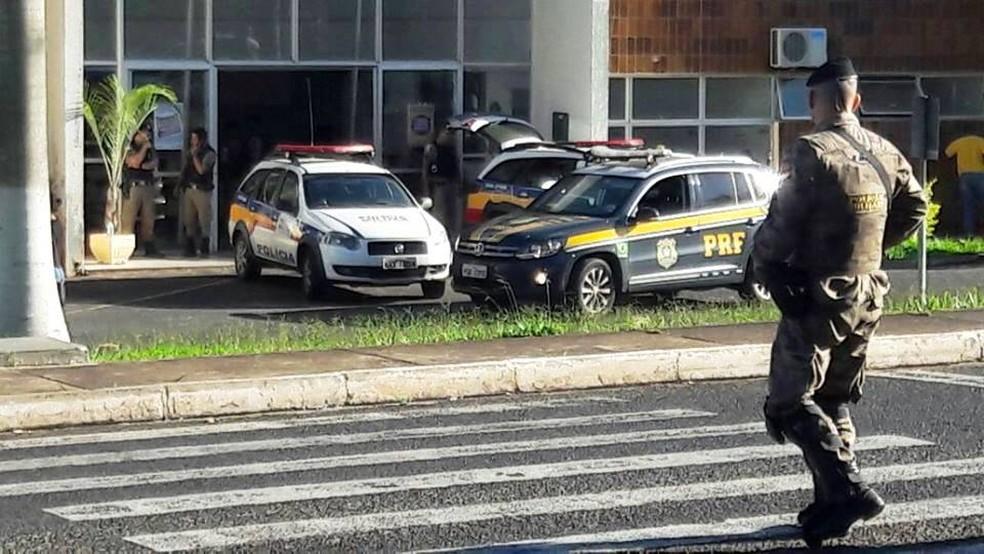 Operação 'Fênix' foi deflagrada pelo Ministério Público Estadual de Uberlândia, por meio do Gaeco (Foto: Túlio Amâncio/G1)
