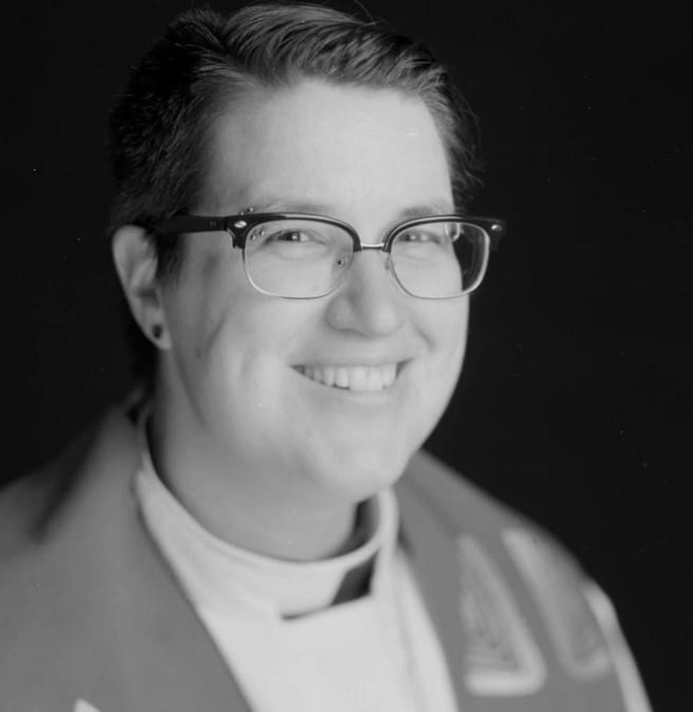 Megan Rohrer, que se elegeu bispo da Igreja Evangélica Luterana dos EUA, em foto de arquivo — Foto: Sierra Pacific Synod/Reprodução