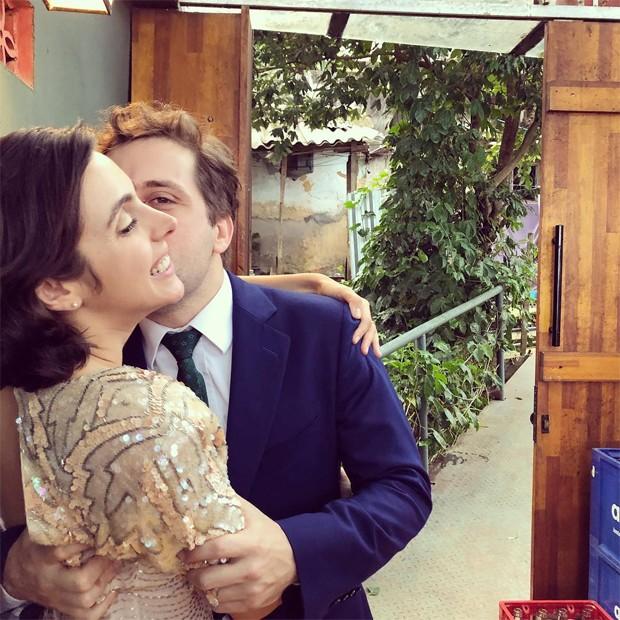 Gregorio Duvivier e Giovanna Nader (Foto: Reprodução/Instagram)