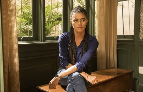No sábado (7) Míriam (Ana Flavia Cavalcanti)  dirá a Betina que encontrou o assassino de Genilson (Paulo Gabriel) Reprodução