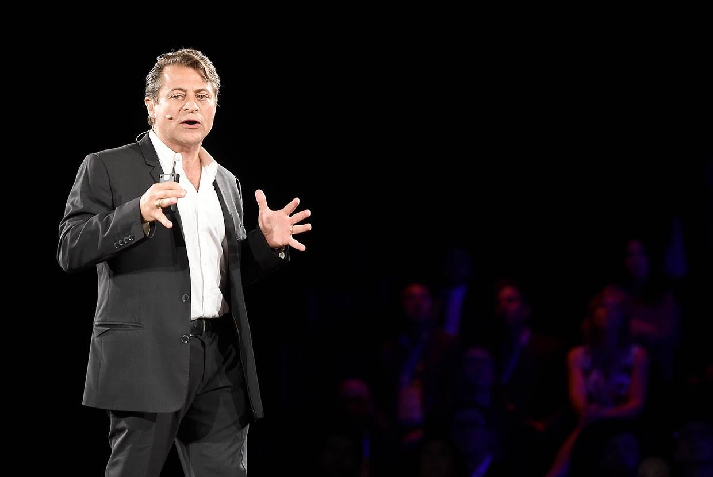 Peter Diamandis faz apresentação sobre inovação em São Francisco, Califórnia (Foto: Michael Buckner/Getty Images for Pernod Ricard)