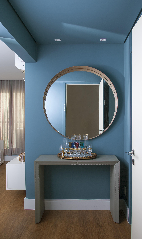 Hall de entrada com espelho: 5 ideias para você repaginar o espaço (Foto:  Luis Gomes)