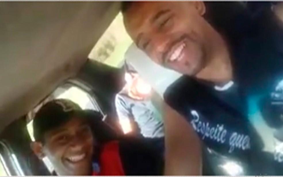 Trio tinha ido a Aparecida para vender sorvete e água — Foto: Reprodução/ TV Diário