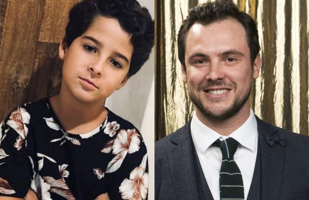 Luiz Felipe Mello e Sergio Guizé interpretarão Chiclete, do núcleo da família de Maria da Paz (Juliana Paes) (Foto: Reprodução / TV Globo)