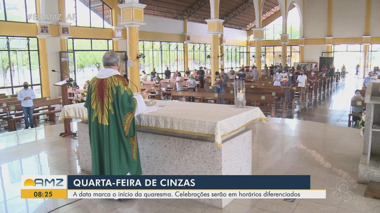Quarta-feira de Cinzas terá celebrações em horários diferenciados na Diocese de Macapá