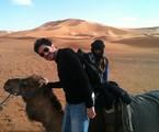 Guilherme Piva no Marrocos   Arquivo pessoal