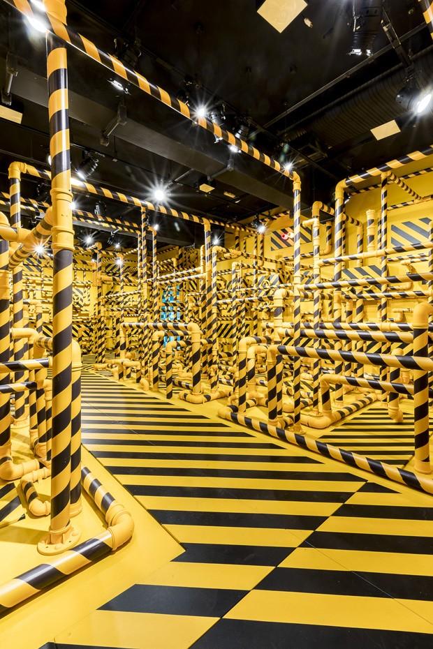Exposição de artista sul-coreana em SP tem instalações com ilusão de ótica  (Foto: FOTOS EDSON KUMASA / DIVULGAÇÃO)