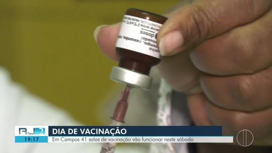 Dia D contra o sarampo será neste sábado; veja pontos de vacinação no interior do Rio