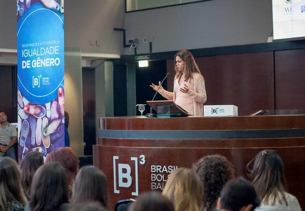 Regina Magalhães, Gerente Sênior de Sustentabilidade e Inovação da Schneider Electric na América do Sul (Foto: Divulgação B3)