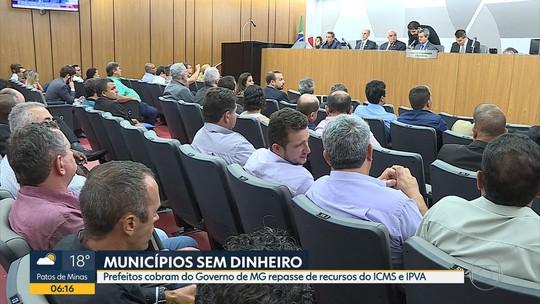 Governo de Minas deve R$ 4,7 bilhões a prefeituras, diz Associação de Municípios