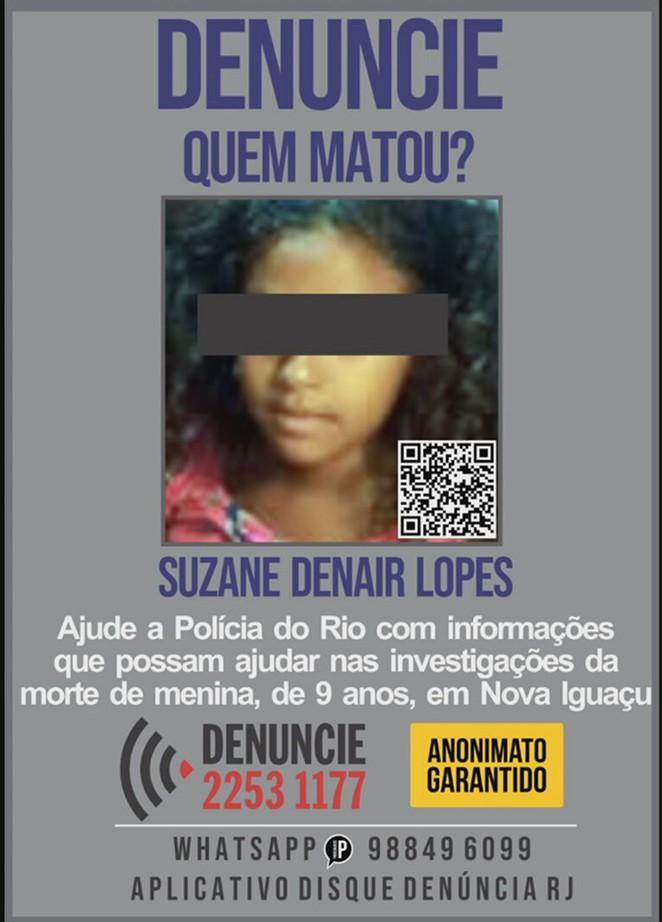 Família de menina de 9 anos estuprada e morta em Nova Iguaçu pede Justiça: 'Ainda não tivemos resposta'