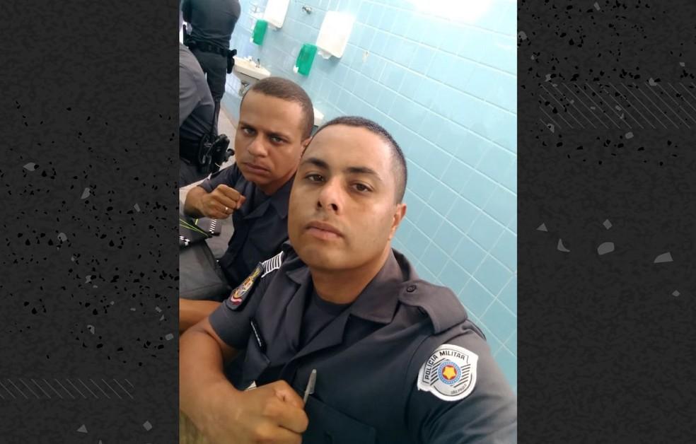 O soldado da PM Jonathan Felipe Silva de Melo, de 28 anos, morreu de Covid-19 antes de concluir o curso de formação da PM em Registro, no interior de São Paulo — Foto: Reprodução