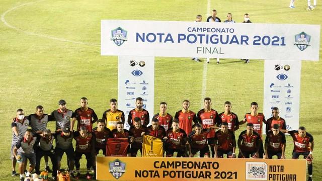 Globo FC é campeão potiguar pela primeira vez