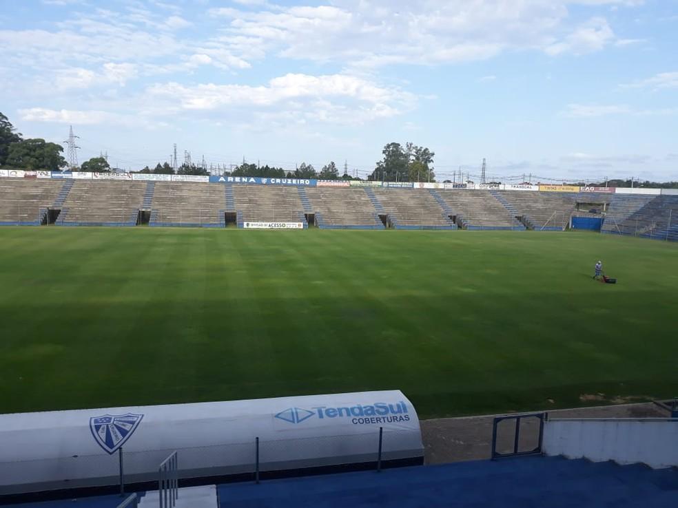 Arena do Cruzeiro-RS vai receber jogo da última rodada — Foto: Divulgação
