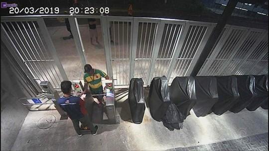 Funcionário da federação do AM é flagrado em vídeo por suposto esquema com cambista; veja